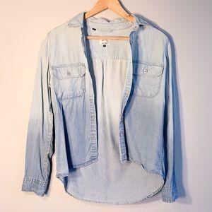 Guess ombré Jean shirt